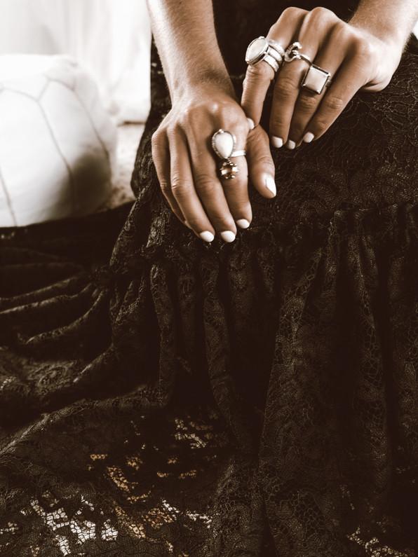 Anabel bohemian ring