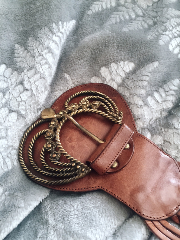 leather belts collection