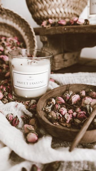 Sweet Jasmine home fragrance and candle