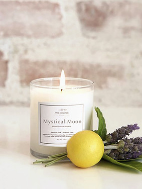 Mystical Moon -Spiritual Essential oil blends soy candle