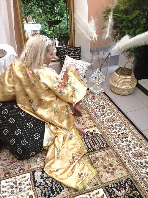 Hasna over sized bohemian kimono