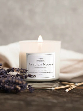 Arabian Noora - Concentrated perfume oil blend candle