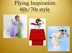 Linda's inspiration for flight