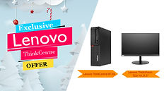 Lenovo ThinkCentre Exclusive Offer