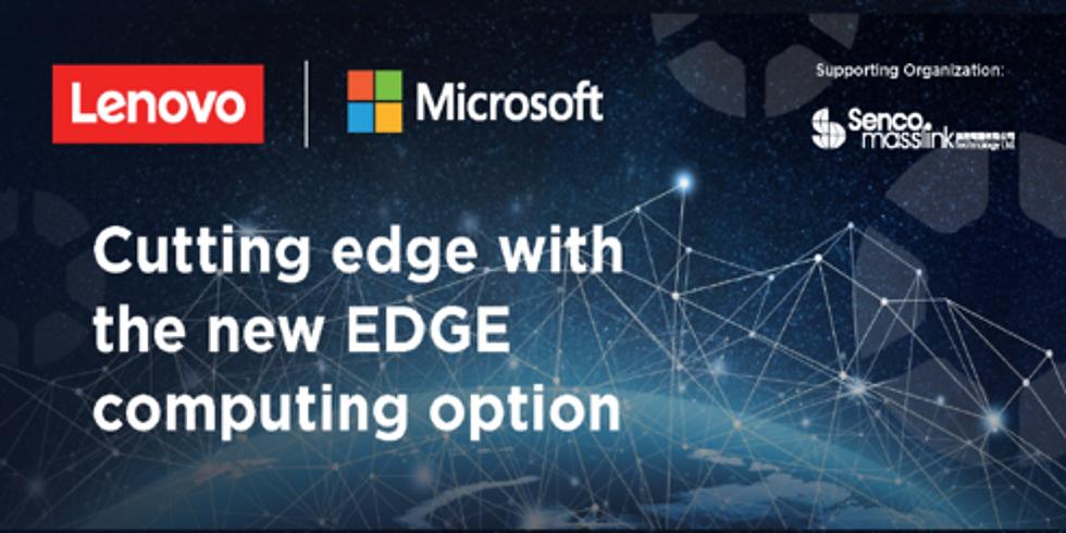 Cutting edge with the new EDGE computing option