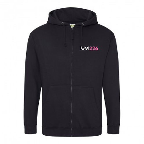 IAM226 Zipped Hoodie