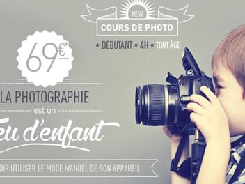 Cours Photo : #1 La Photographie est un jeu d'enfant