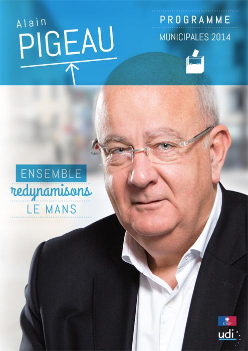 Affiche campagne Municipal 2014