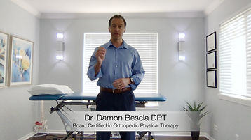Dr Damon Bescia DPT of Naperville Manual Physical Therapy Dr Damon Bechaz DPT