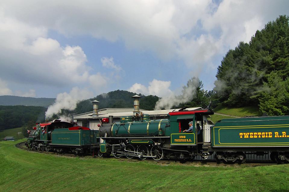 Tweetsie Railroad Pulls a Doubleheader.j