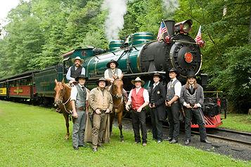 Wild West Adventure with Engine No. 190.
