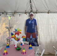 Supersoft bday inside tent.HEIC