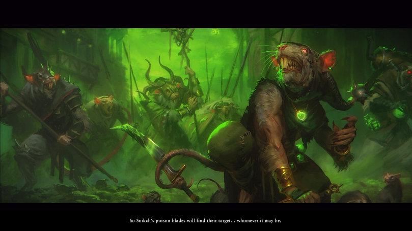 Total War: Warhammer II - The Shadow & The Blade introductory cutscene