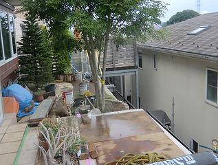 ガーデンリフォーム(アルミフェンス、立水栓、花壇、砂利敷き等)