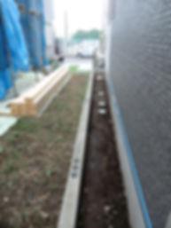 フェンス取り付け工事