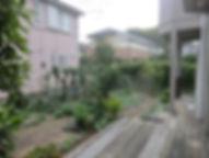 青葉区の人工芝の施工前