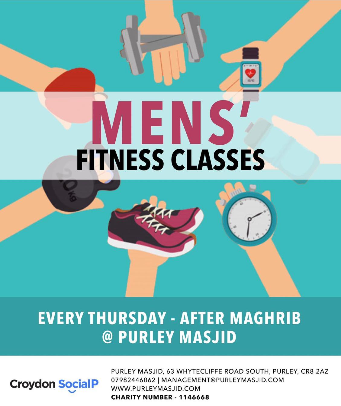 Men's Fitness Classes