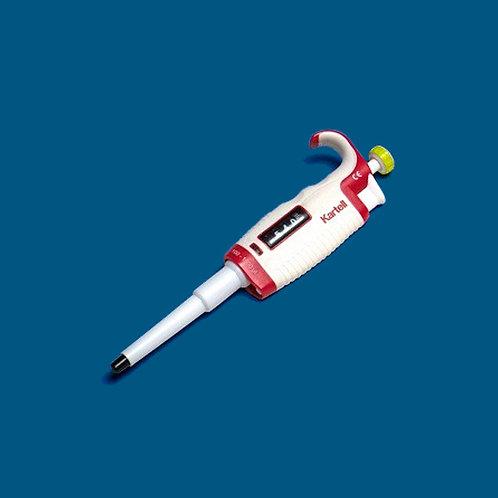 Micropipeta monocanal 0,5 - 10  μL