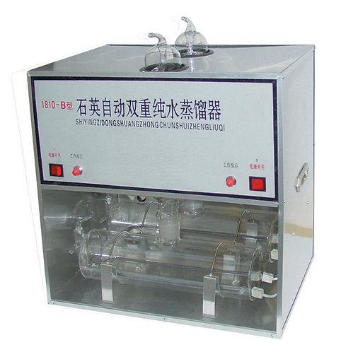 Destilador De Agua Eléctrico En Vidrio Estructura Metalica  1810B