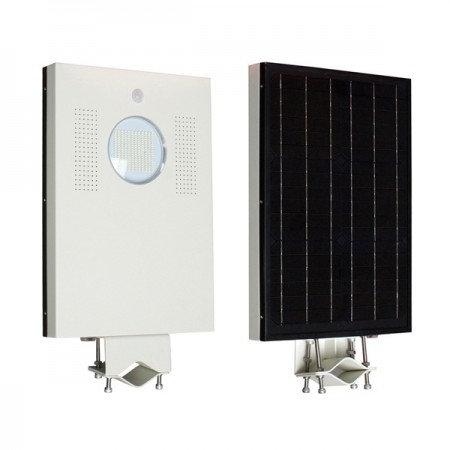 Luminaría Solar para Poste 15W Todo en Uno