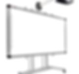 Tablero interactivo, software interactivo, captadores de datos