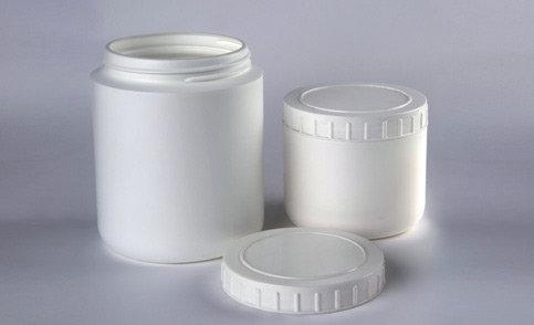 frasco elaborado en teflón para reactivos y muestras