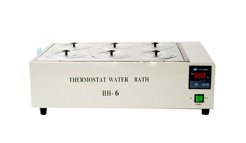 Baño De Agua Digital  Metálico HH-6