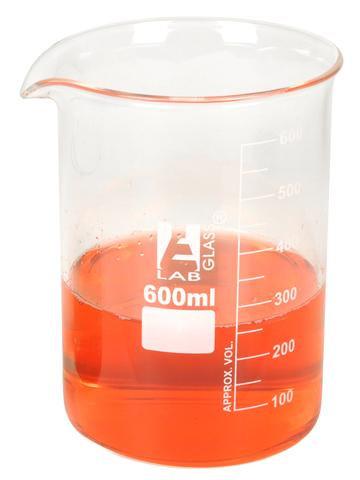 Vaso de precipitado de 600 ml.