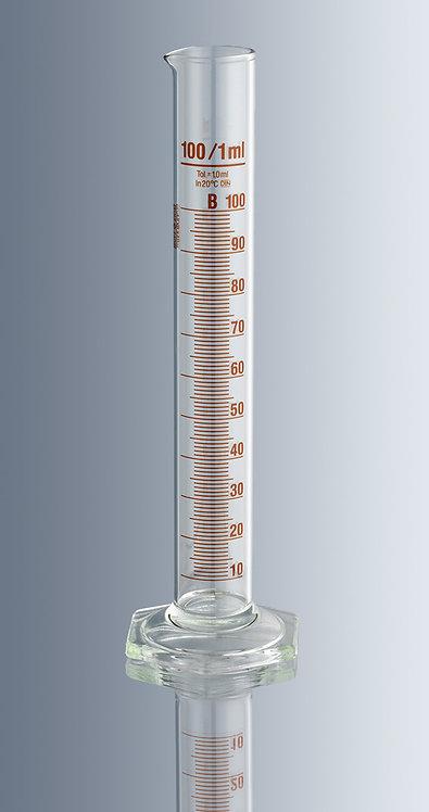 Probeta graduada de vidrio de 100 mL