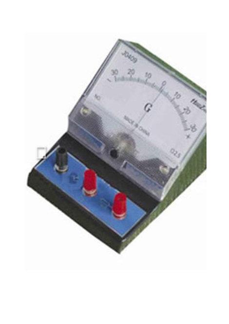 Galvanometro (Medidor Electrico) 1 -0 - 1 Ma