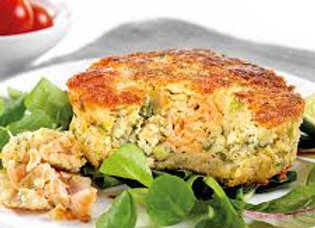 Salmon, Lemon & Dill Fishcakes