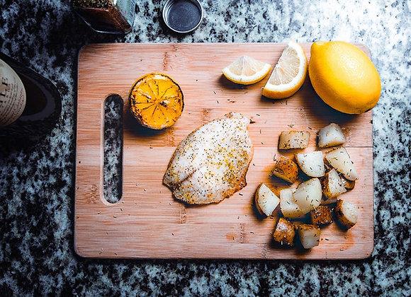 Lemon Sole Fillets - 1.8kg - 8-10 portions
