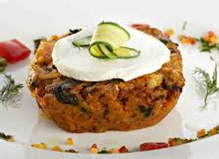 Apricot & Goats Cheese Nut Roast