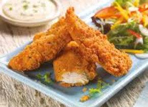 Breaded Chicken Goujons - 2kg - Oven-Ready Crisp Crumb