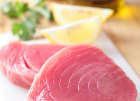 Tuna Loin Steaks - 10 x 8oz Vacuum-Packed Portions