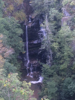 Bradley Falls from the overlook