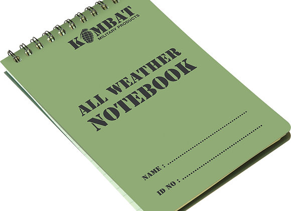 ALL WEATHER NOTE BOOK