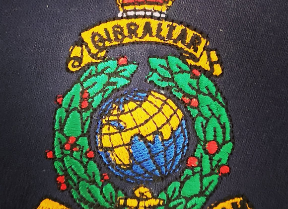 Embroidered Polo (Globe and Laurel)