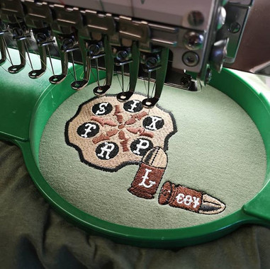 #embroideredtroopshirts #42commando #emb