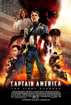 Captain America: The First Avenger | SD | iTunes | USA