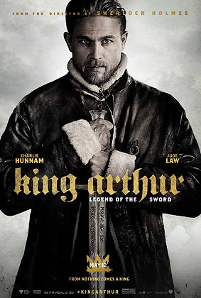 King Arthur: Legend of the Sword | HD | Movies Anywhere or VUDU | USA