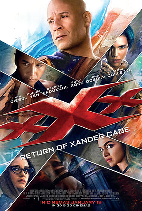 xXx: Return of Xander Cage | HD | VUDU | USA