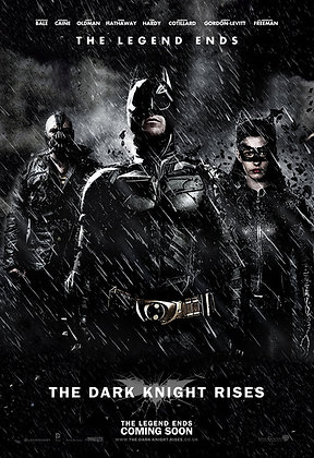 Dark Knight Rises, The | HD | Movies Anywhere or VUDU | USA