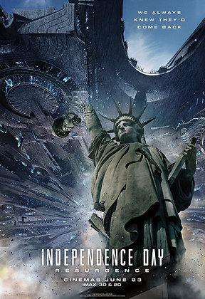 Independence Day: Resurgence | HD | MA, VUDU, iTunes or GP | USA