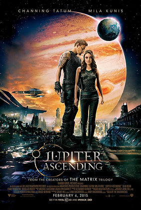 Jupiter Ascending | HD | Movies Anywhere or VUDU | USA