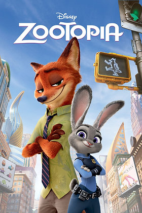 Zootopia  | HD | Movies Anywhere | USA