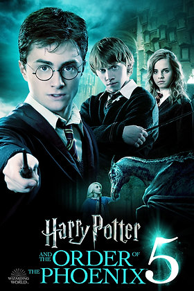 Harry Potter and the Order of the Phoenix   HD   Movies Anywhere or VUDU   USA