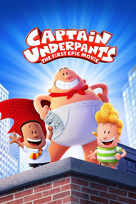 Captain Underpants: The First Epic Movie | HD | Movies Anywhere or VUDU | USA