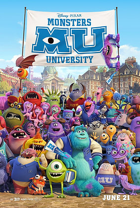Monsters University | HD | Movies Anywhere | USA
