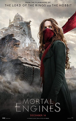 Mortal Engines | HD | Movies Anywhere or VUDU | USA